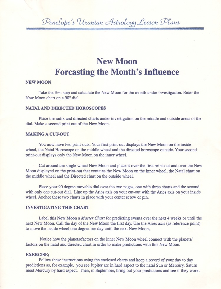 Lesson-NewMoonForecastingtheMonthsInfluence1